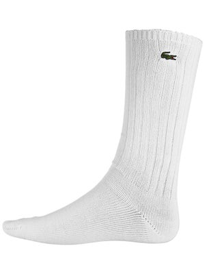 Lacoste Men's Crew Socks White Size 6