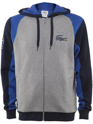 Lacoste Men's Fall Full Zip Fleece Hoodie