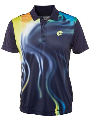 Lotto Men's Spring Graphic Blend Polo