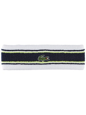 Lacoste Men's Headband White/Navy
