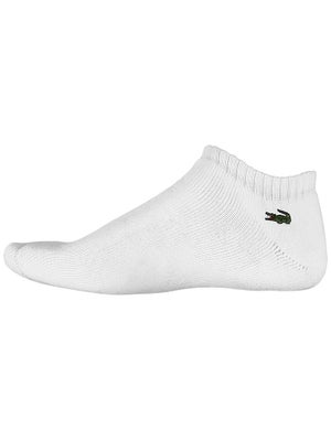 Lacoste Men's Low-Cut Ped Socks White Size 6