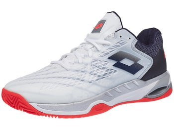 buy popular 5ff70 029be Product image of Lotto Mirage 100 CLY White Navy Orange Men s Shoes
