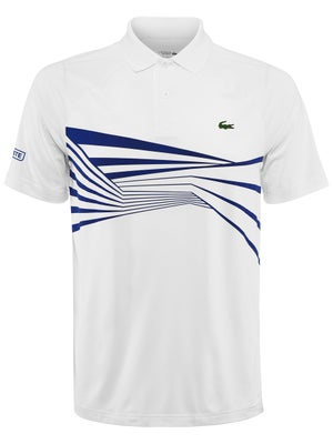822c328d Product image of Lacoste Men's Novak Djokovic Center Geo Polo
