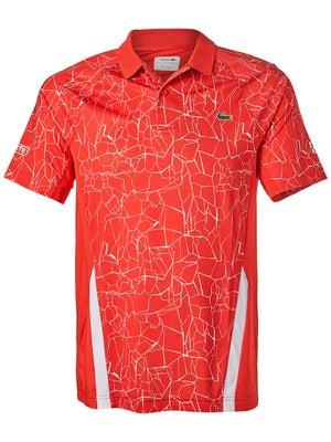9348f35a25f9d Product image of Lacoste Men s Novak Djokovic Print Colorblock Polo