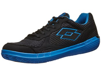Lotto Quaranta III Black/Blue Men's Shoe