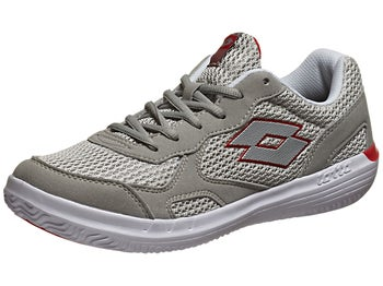Lotto Quaranta III Grey/Red Men's Shoe