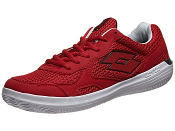 Lotto Quaranta III Red/White Men's Shoe