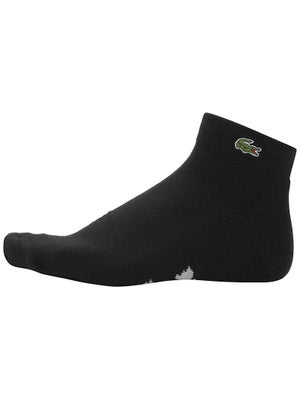 Lacoste Men's Quarter Socks Black Size 6