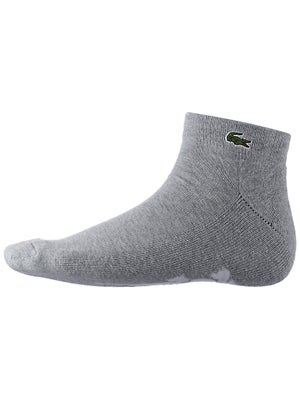 Lacoste Men's Quarter Socks Grey Size 6