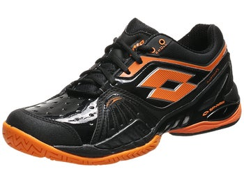 Lotto Raptor Ultra IV Speed Black/Orange Men's Shoe