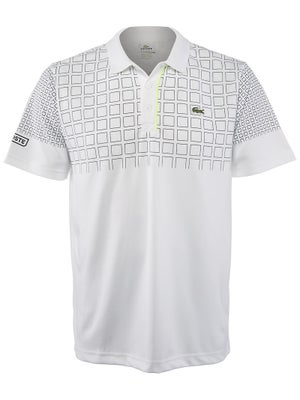 Lacoste Men's Spring Block Print Polo