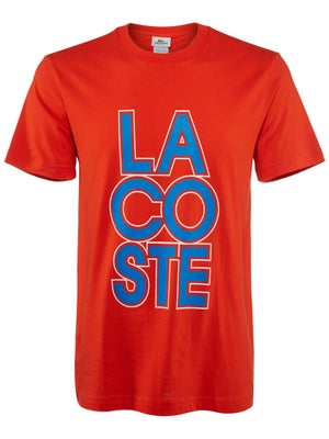 Lacoste Men's Spring Sport Graphic T-Shirt