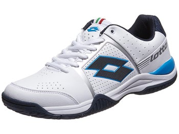 Lotto T-Tour III 600 White/Blue Men's Shoe