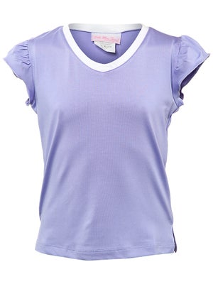Little Miss Tennis Girl's Lovely Cap-Sleeve Top
