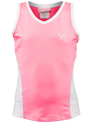 Little Miss Tennis Girl's Love Tank