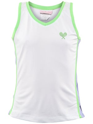 Little Miss Tennis Girl's Lovely Tank