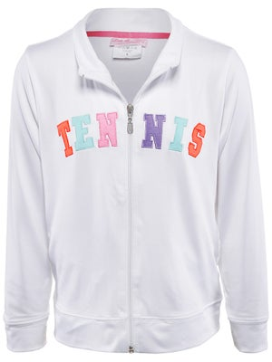 Little Miss Tennis Girl's Neon Jacket