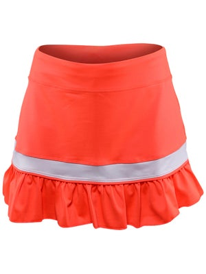 Little Miss Tennis Girl's Neon Ruffle Skort