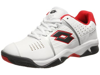Lotto T-Tour 600 White/Risk Red Men's Shoe