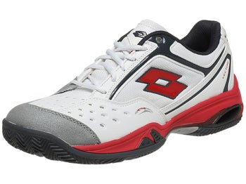 Lotto Vector IV White/Red Men's Shoe