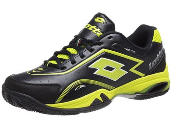 Lotto Vector V Black/Green Men's Shoe