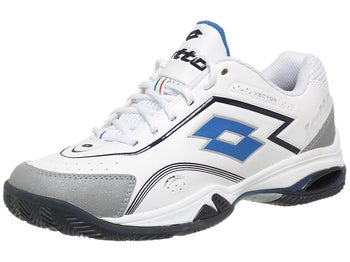 Lotto Vector V White/Blue Men's Shoe