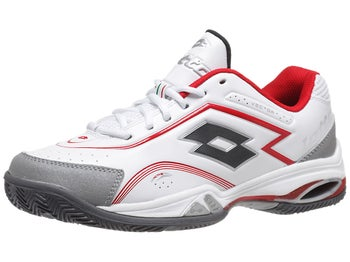 Lotto Vector V White/Red Men's Shoe