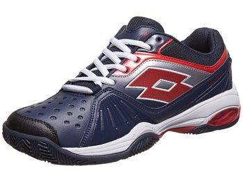 Lotto Vector VI Navy/Red Men's Shoe