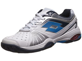 Lotto Vector VI White/Blue Men's Shoe