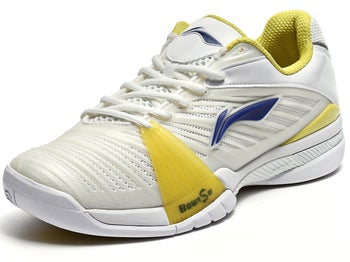 LI-NING Pro Competition Wh/Yellow Men's Shoe
