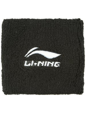 LI-NING Men's Fall Wristband Black