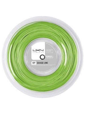 Luxilon Savage 16 (1.27) String Reel Lime