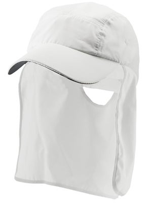 Lenoir Sun Flap Sports Hat White