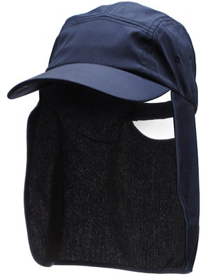 Lenoir Sun Flap Sports Hat Navy