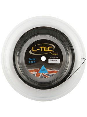 L-TEC Premium 3S Black 17 (1.25) 164' String Mini Reel