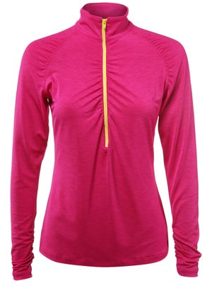LIJA Women's Balance Zip LS Polo