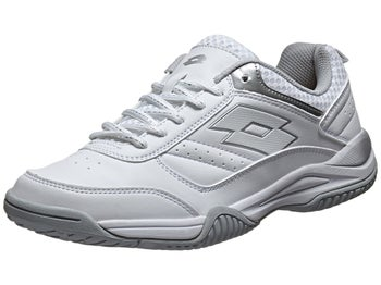 Lotto Court Logo IXW White/Silver Women's Shoes