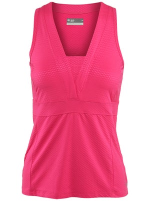 Lija Women's Endurance Honey V-Neck Tank
