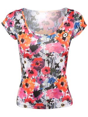 Lotto Women's Maddy Top Flowers