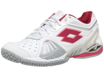 Lotto Raptor Ultra IV White/Red Velvet Women's Shoes
