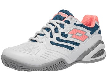 uk availability 63b9e 175ec Product image of Lotto Stratosphere IV CLAY White Green Pk Women s Shoes