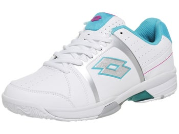 Lotto T-Tour 600 White/Blue Women's Shoes