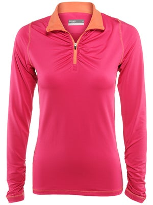 LIJA Women's Endurance 1/4 Zip Base Layer Top