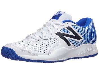 11fcb7932f461 Product image of New Balance MC 696v3 2E White/Royal Men's Shoes