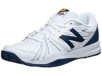 brand new 70b9c ecdc5 Product image of New Balance MC 786v2 4E White Blue Men s Shoes