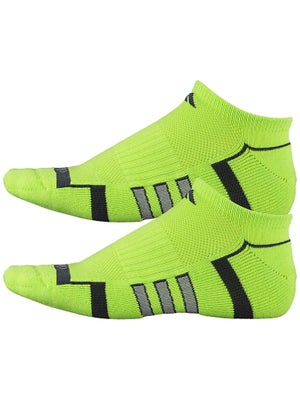 adidas Men's ClimaLite II 2-Pack No Show Socks Gn/Bk