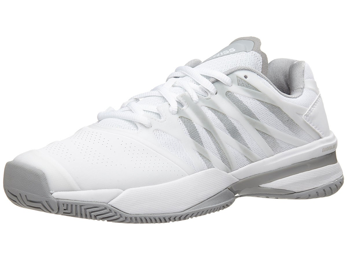 107: WHITE // HIGHRISE TENNIS SHOES **NEW IN BOX** WOMEN/'S KSWISS ULTRASHOT
