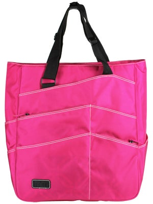 Maggie Mather Tennis Super Tote Bag Fuchsia