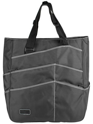Maggie Mather Tennis Super Tote Bag Pewter