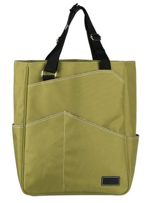 Maggie Mather Tennis Tote Bag Lime
